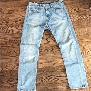 Men's Levi's 513 Light Wash Jeans